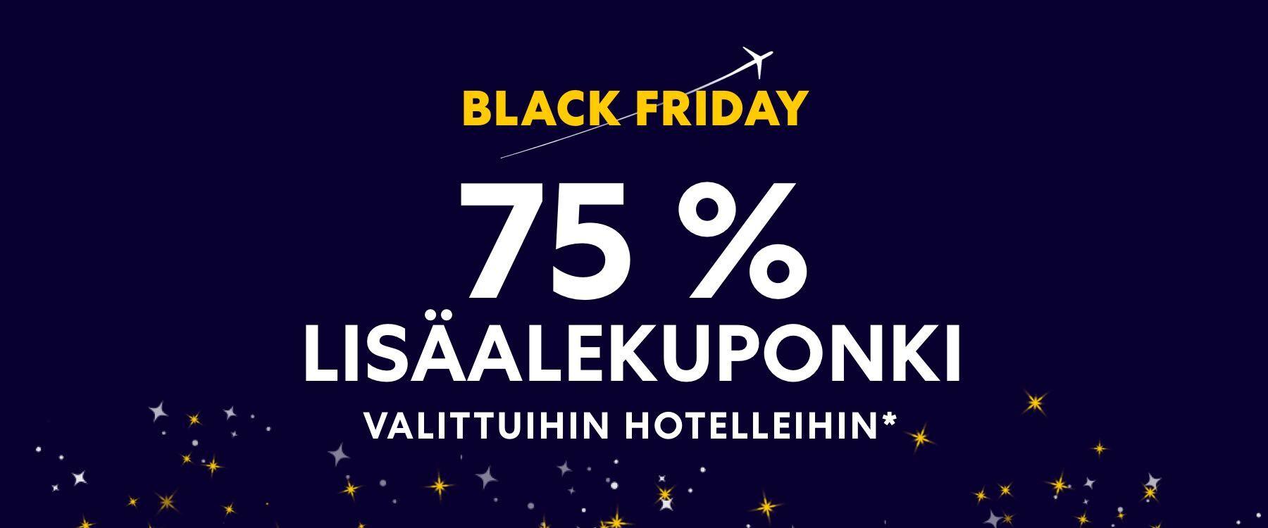 Black Friday Lennot