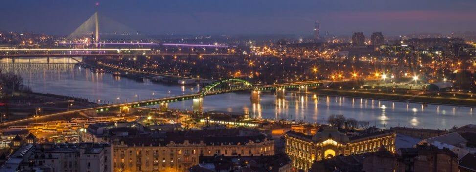 Lennot Helsinki Serbia Belgrad