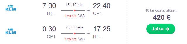 Lennot Kapkaupunki